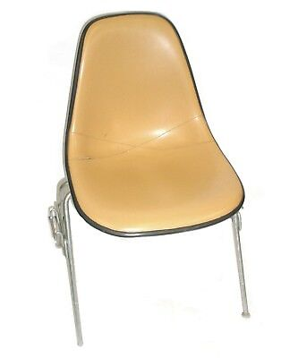 Herman Miller Leather Bucket Chair Stackable Wchair-to-chair Interlock Legs2