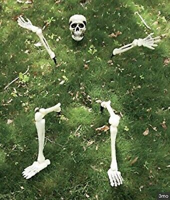Halloween Buried Lawn skeleton Great Prop decoration - new