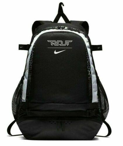 Nike Trout Vapor Baseball Bat Backpack W/Laptop Sleeve Black White BA5436 011