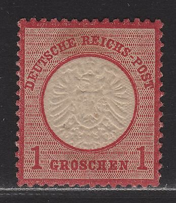 GERMANY  17 ,MLH. 1872 LARGE SHIELD IMPERIAL EAGLE STAMPS
