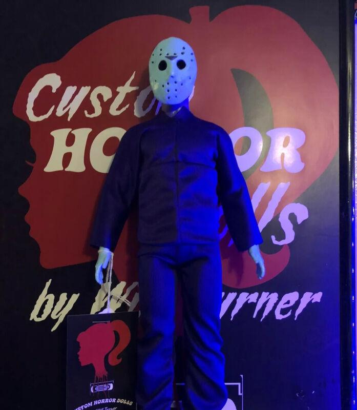 """SALE Jason Voorhees CUSTOM HORROR OOAK 12"""" Friday 13th Figure NES"""