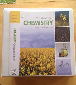 Chemistry - Canadian edition Olmsted Williams Burk