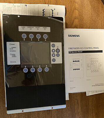 Siemens Pmi-2 Person Machine Interface For The Firefinder Xls Fire Alarm System