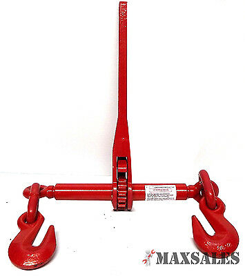 New 14 Or 516 Ratchet Load Binder Chain Equipment Tie Down Rigging