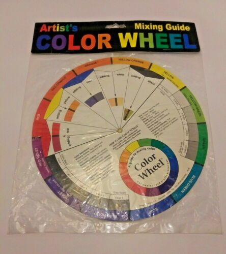 *NEW*SEALED* Color Wheel Company Artists Color Wheel, Mixing Guide, Full Size