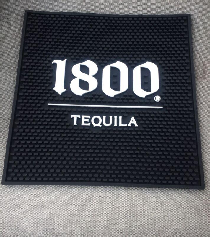 """Jose Cuervo 1800 Bar Mat Large 15"""" x 15"""" Rubber Spill Mat Tequila Bar Tool Drink"""