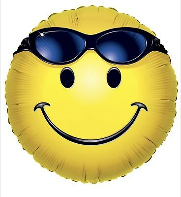 Smiley Face With Sunglasses Emoji 18