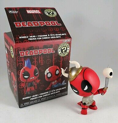Funko Mystery Mini Deadpool Bobble-Head VIKING Figurine w/Box