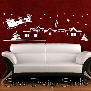 Christmas-Landscape-Wall-Quote-Sticker-Wall-Art-Decor
