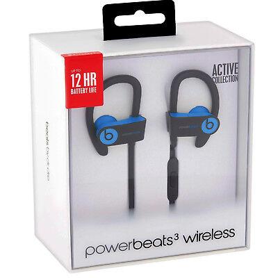 Beats Powerbeats3 PowerBeats 3 Wireless In Ear Headphones Bluetooth BLUE NEW