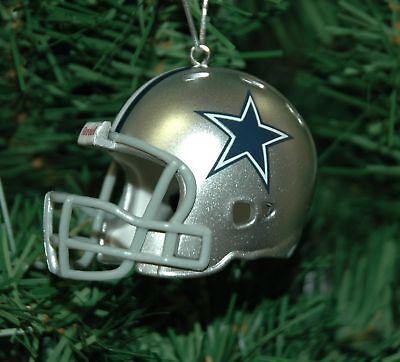 Dallas Cowboy Football Helmet Christmas Ornament