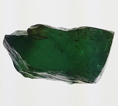 Echter guter Roh - Turmalin / Verdelith ( ca. 37,7 Carat ) 24,4 x 13,4 x 11,7 mm