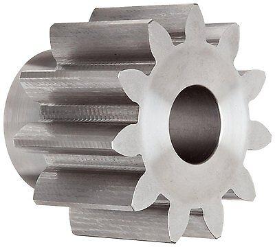 "Boston Gear NL11B Spur Gear, 14.5 Pressure Angle, Steel, Inch, 4 Pitch, 1.125"""