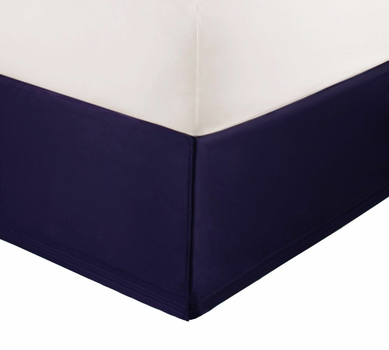 NEW Natori Imperial Palace SILK Purple CAL KING Bedskirt MSRP $240!