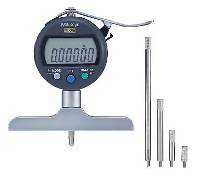 Mitutoyo 547-258scal Absolute Digimatic Depth Gauge With Calibration