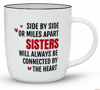 Gifffted Best Sister Ever Coffee Mug,Gifts From Sister to Sister,Birthday Gift (Best Anniversary Gifts For Sister)