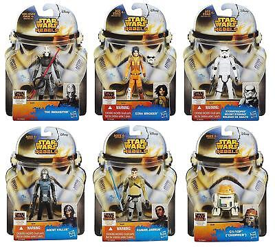 Star Wars Rebels 6 Figure Bundle Featuring Stormtrooper Ezra C1-10P Figures