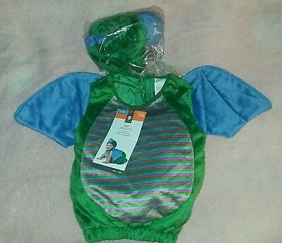 Target 6-12 Months Baby Dragon 3-Piece Halloween Costume~Vest+Booties+Headpiece](Target Costumes Baby)