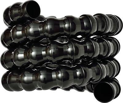 2pcs Loc-line Black - 34 - 5 Foot Coil