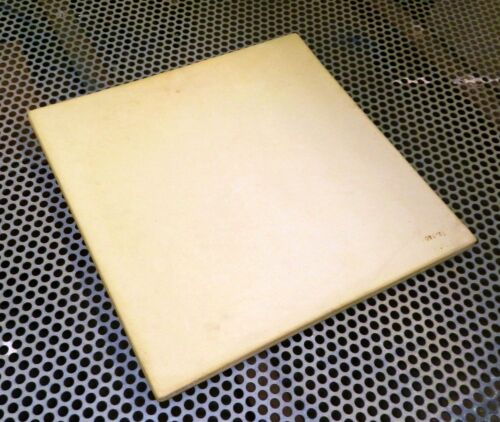"""Soldering Board Melting Bench Block Ceramic Heat Plate 12"""" Square 1/2"""" Thick"""