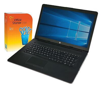 HP 17,3  Notebook ~ AMD ~ 3,2Ghz ~ 8GB ~ 1TB ~ Full HD ~Win10 ~ Office ~Laptop