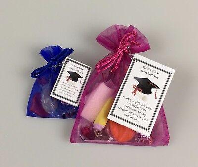Graduation Survival Kit ( Novelty Fun Keepsake Gift  - Personalised Option ) ](Fun Graduation Gifts)