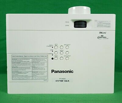 Panasonic PT-VX410Z XGA LCD Projector HDMI Input (Low Lamp Hours)