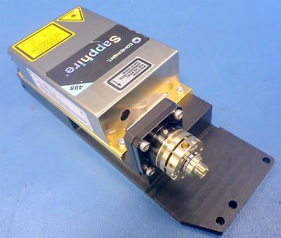 Coherent Sapphire 488-75 Blue Laser Wmount 60sms Coupler 521211 Tested