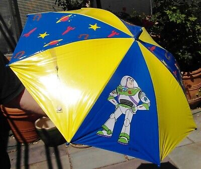 Toy Story BUZZ LIGHTYEAR UMBRELLA child's (Buzz 3D Handle) vintage 1996 for sale  Shipping to India
