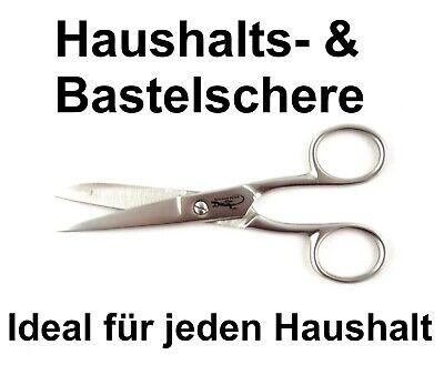 12,7 cm - 5 Zoll Haushaltsschere Edelstahl Bastelschere Küchenschere Stoffschere
