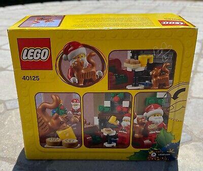 Lego Retired Holiday Christmas New Santa's  40125