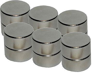 12 Neodym Magnete für Glasmagnettafel, extra stark, Magnettafel aus Glas 10 mm