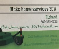 Ricks home services 2017
