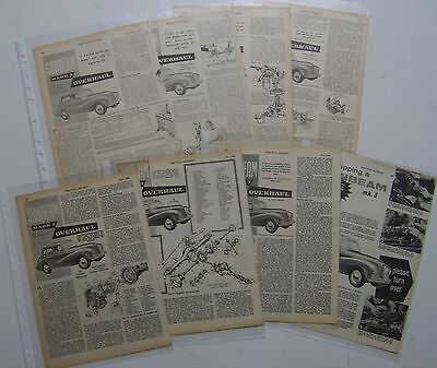 Sunbeam Mark 3 Collection of 8 Technical Articles from Practical Motorist