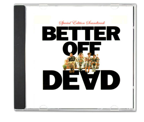 BETTER OFF DEAD (1985) CD Special Edition Soundtrack 80