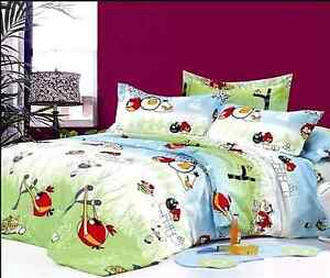 BRAND NEW ** ANGRY BIRDS ** SINGLE BED COMFORTER SET