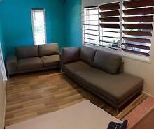 Fabric Corner Chaise - 5 seater - Excellent Condition Kewarra Beach Cairns City Preview