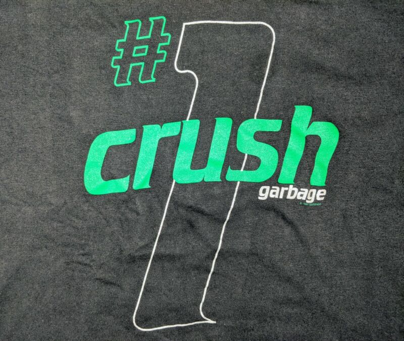 Vtg 90s 1997 XL Garbage #1 Crush Concert Tour Winterland Tshirt