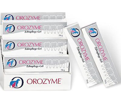 Orozyme Zahnpflege Gel 70 g zur Mundhygiene bei Hunden und Katzen
