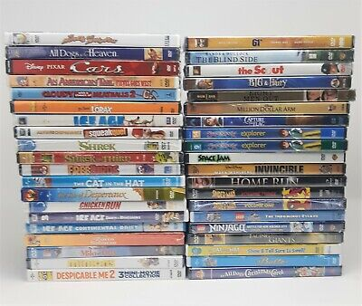 Lot of 20 Kids and Family Assorted DVDs **NEW Sealed** **You Pick The Lot**