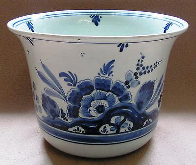Keramik Vase / Blumentopf Royal Blue ()