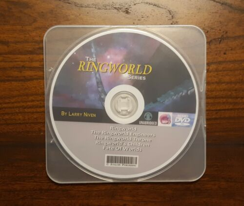 The RINGWORLD Series - 5 MP3 Audiobook Collection -  by Larry Niven
