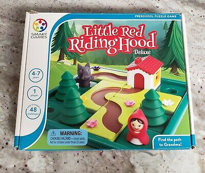 SmartGames Little Red Riding Hood, A Preschool Puzzle Game & Brain Game for Kids - Red Riding Hood Costume For Kids