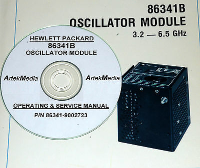 Hp 86341b Oscillator Module Operator And Service Manual