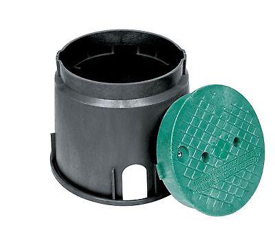 Storm Drain FSD-100 10″ Round Sprinkler Valve Box w/lid Home & Garden