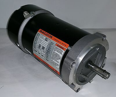 BALDOR 0.25 HP 1800 RPM ODP 115/230 VOLTS 56C 1 PHASE MOTOR NEW SURPLUS