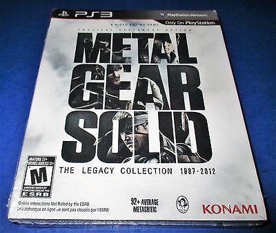 Metal Gear Solid: The Legacy Collection 1987-2012 PS3 w/ Exclusive Art Book! comprar usado  Enviando para Brazil