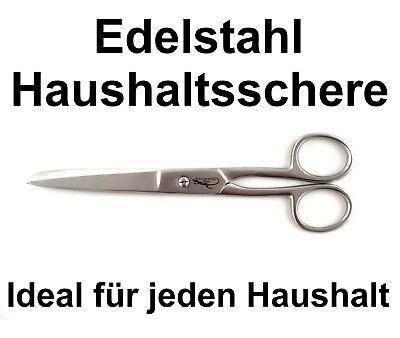 17,7 cm - 7 Zoll Haushaltsschere Edelstahl Bastelschere Küchenschere Stoffschere