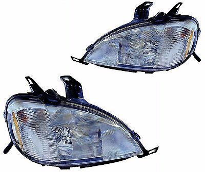 TIFFIN PHAETON 2002 2003 PAIR HEAD LIGHT LAMP HEADLIGHT RV - SET