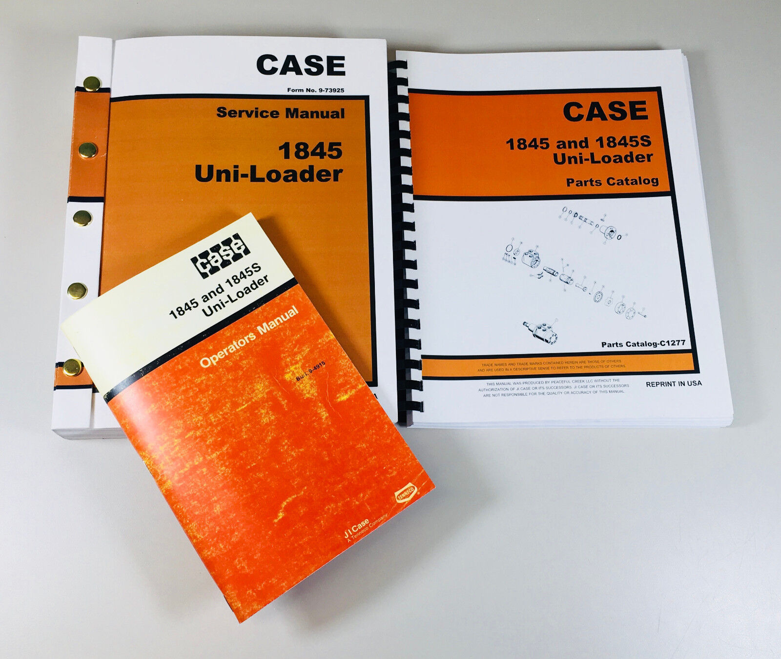This comprehensive set of manuals include